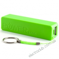 Корпус Power Bank 1x18650 Green