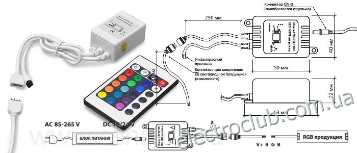 Контроллеры для rgb своими руками 85